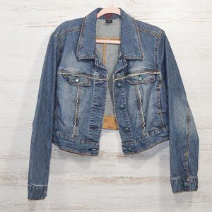 Venezia Lane Bryant Short Denim Jacket